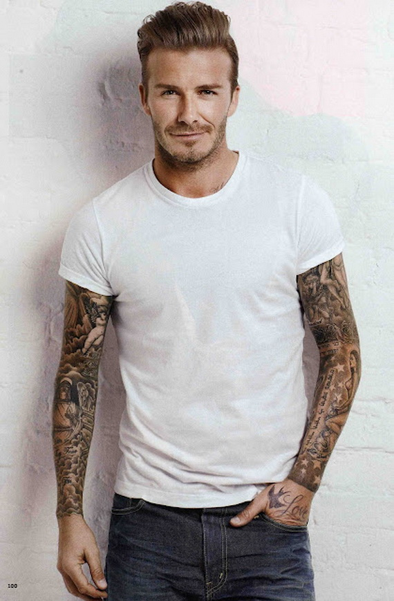 David Beckham Style Photo Picture HD Wallpaper Background