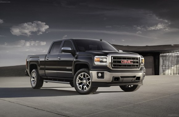 GMC Sierra 1500 Diesel Car 2014 Widescreen HD Wallpaper Picture Desktop