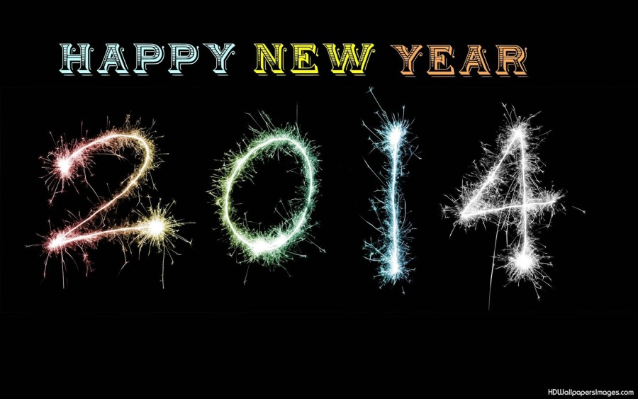 Happy New Year 2014 HD Wallpaper Happy New Year 2014 Background