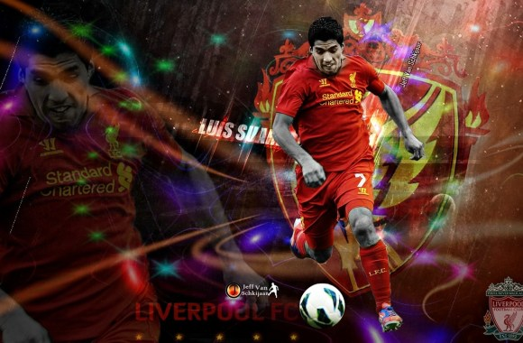 Luis Suarez Liverpool 2013 Wallpaper HD Widescreen For Your PC Desktop