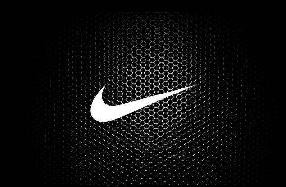 New White And Black Nike Logo Best HD Wallpaper Background Desktop