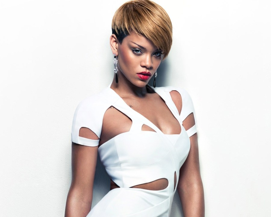 White Rihanna Photos Backgrounds HD Wallpapers Pictures Collection
