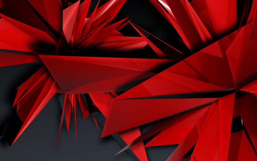 Fantastic Abstract Red Artwork HD Wallpaper Picture For PC Desktop