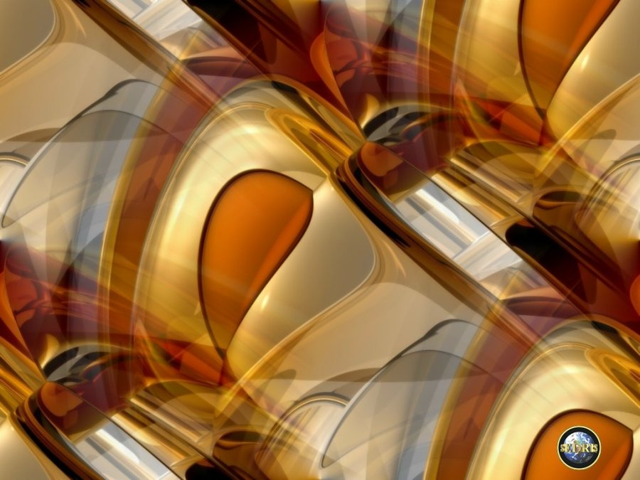 Awesome Gold Abstract Wallpaper HD Widescreen For PC Computer