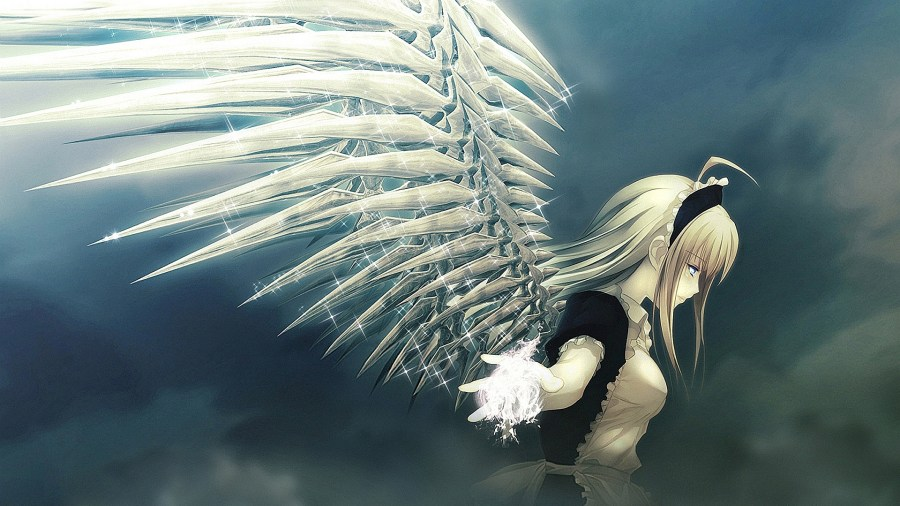 Anime Angel High Resolution In High Definition Wallpapers Free Download