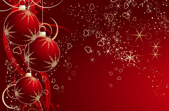Christmas Balls Wallpaper HD Widescreen For Your PC Computer