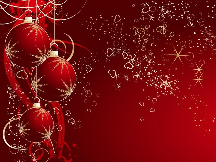 Christmas Balls Wallpaper HD Widescreen For Your PC Computer