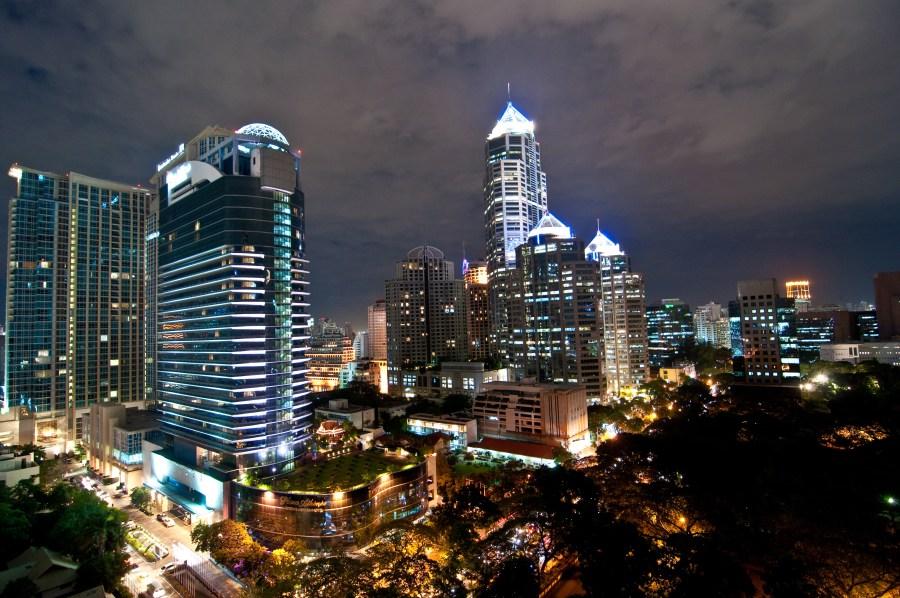 Modern City Bangkok Photo Picture HD Wallpaper Free Download