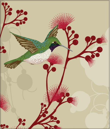 Beautiful Flowers Bird Decorative Art A Selection Of Wall Pieces Photo