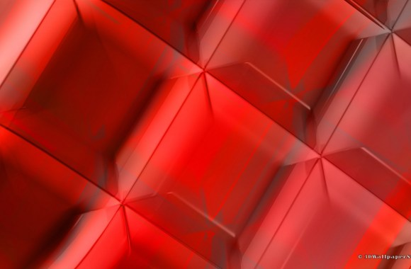 Deep Red Abstract Like Diamond HD Wallpaper Image Picture