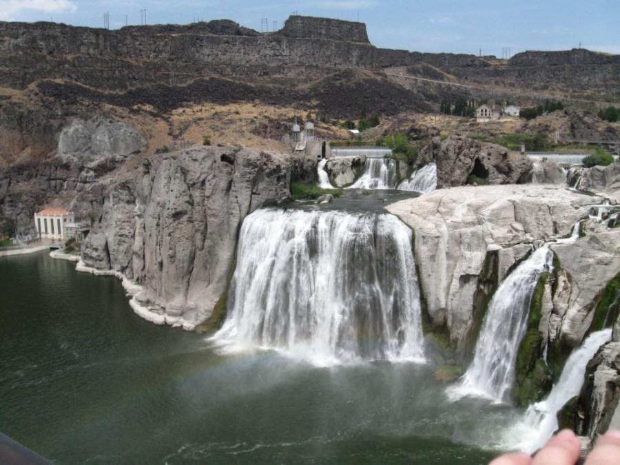 Shoshone Waterfall Wallpaper HD Widescreen For Your PC Computer