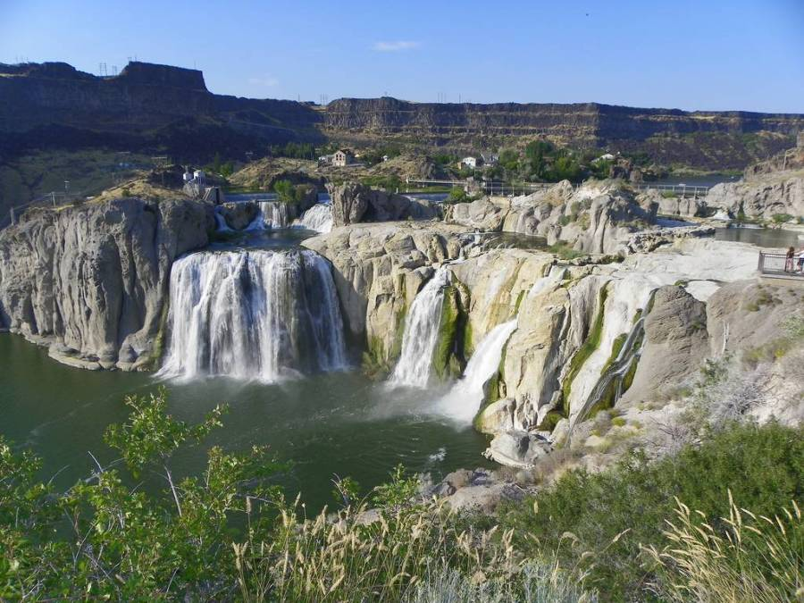 One Of The Most Beautiful Waterfalls In The World Shoshone Falls Picture