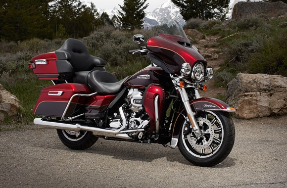 HarleyDavidson Electra Glide Ultra Classic Motorcycle Photo Image
