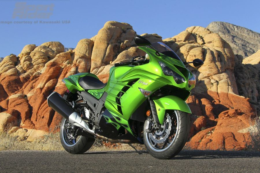Kawasaki ZX 14R Sport Rider HD Wallpaper Widescreen For PC Desktop