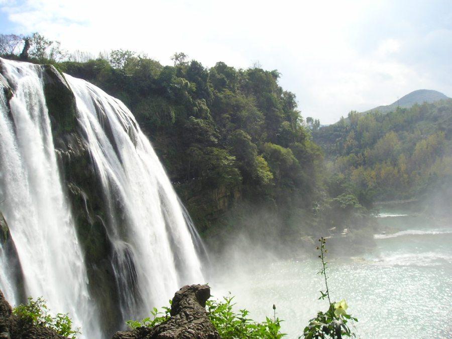 Beautiful Place To Visit Huangguoshu Waterfall China Photo Picture