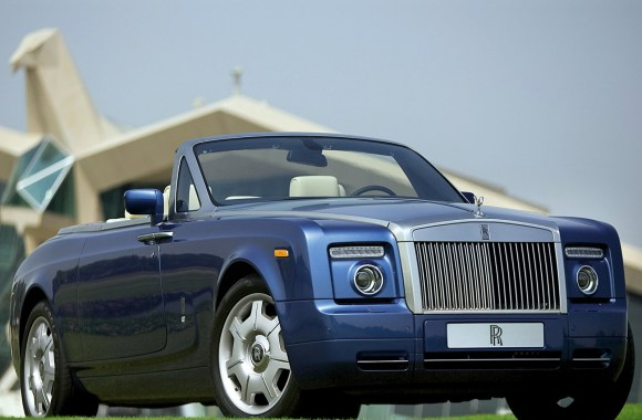 Beautiful Rolls Royce Phantom Drophead Coupe HD Wallpaper