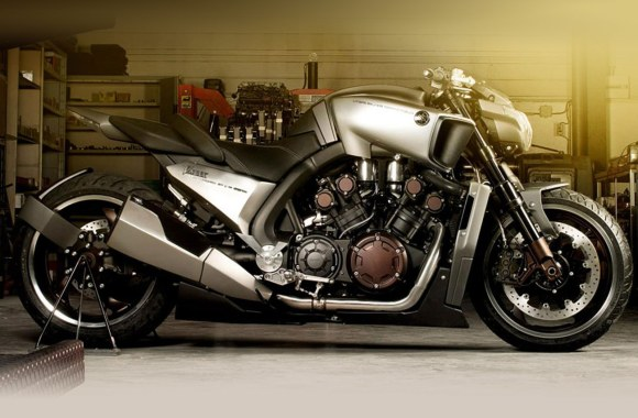 Fantastic Yamaha VMAX Hyper Modified Ludovic Lazareth Picture Image