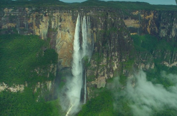 Angel Waterfall Nature World Photos Pictures HD Wallpapers Gallery