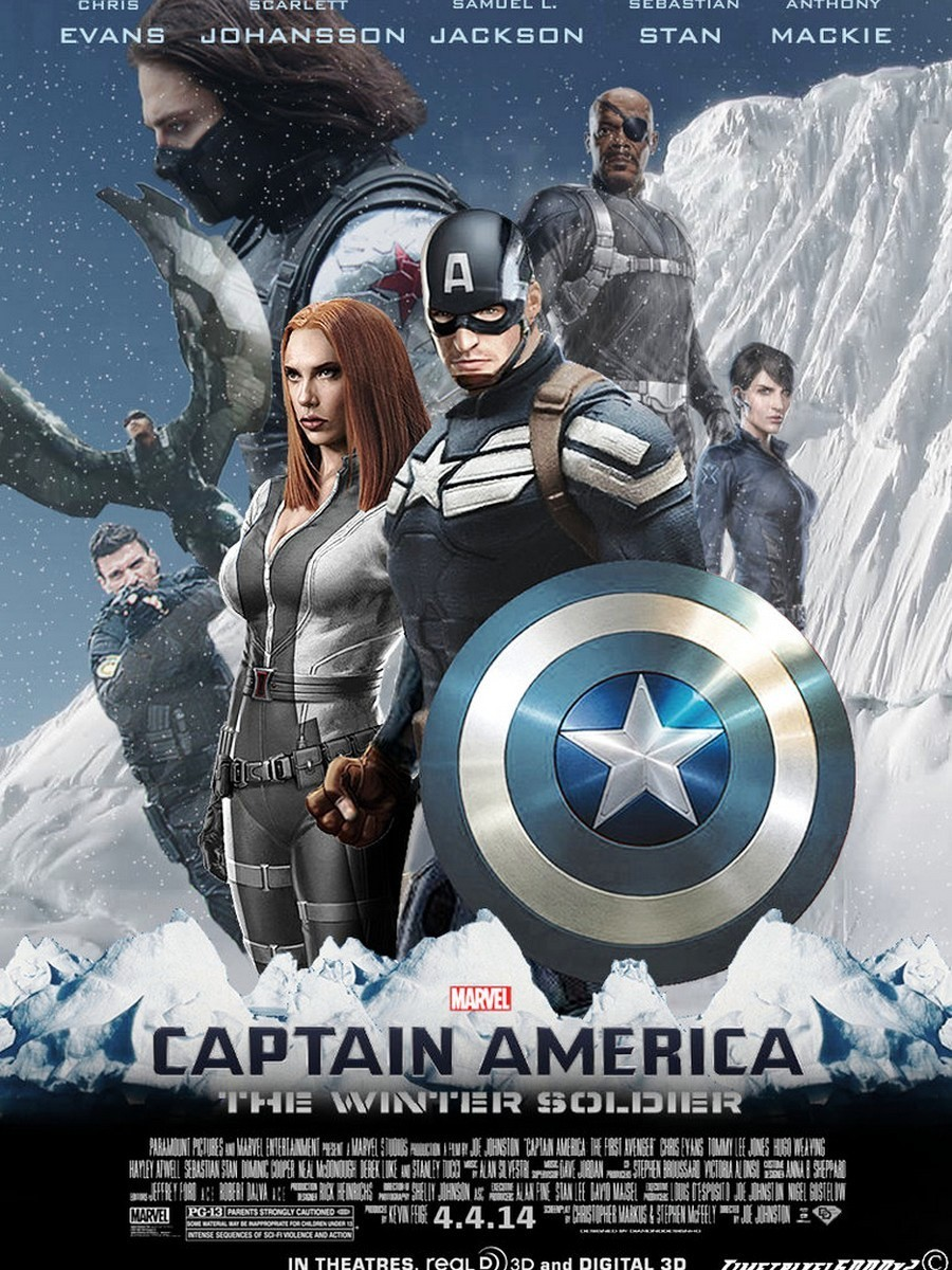 Captain America The Winter Soldier Poster HD Wallpaper Picture Photo