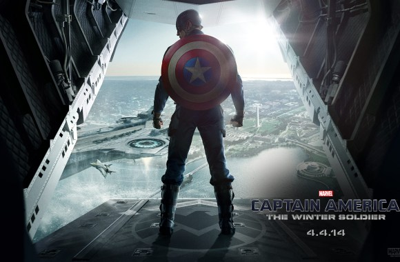 Captain America Winter Soldier Widescreen HD Wallpaper For PC Desktop