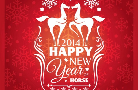 Chinese New Year 2014 Horse Best HD Wallpapers Pictures Images Collection