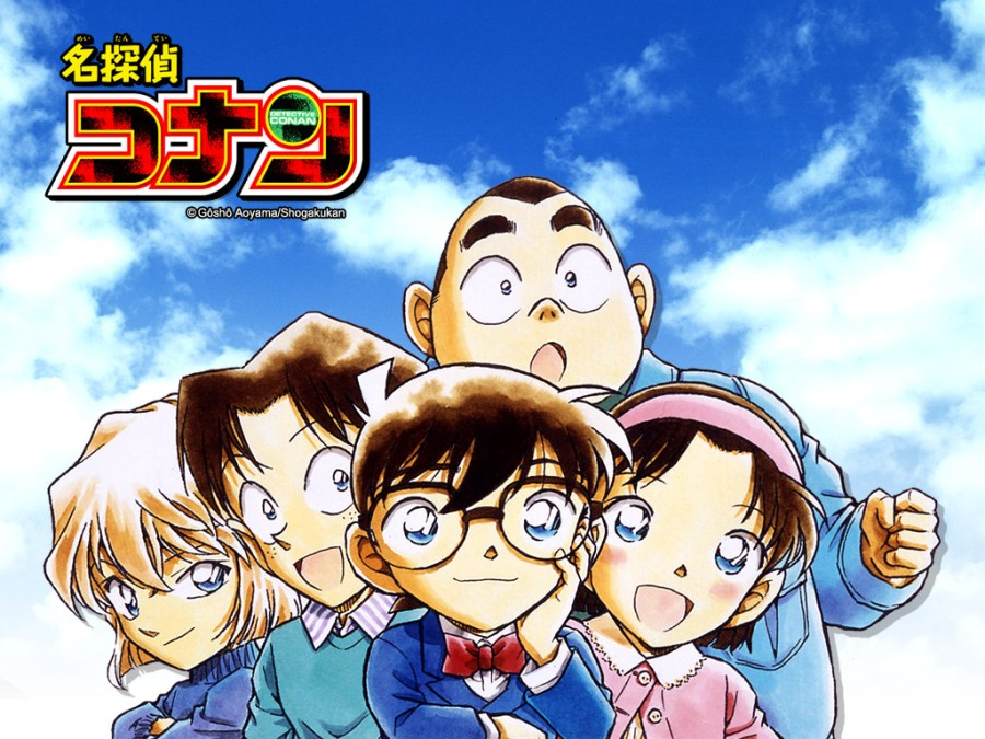 Detective Conan Anime Picture Little Detective Manga HD Wallpaper