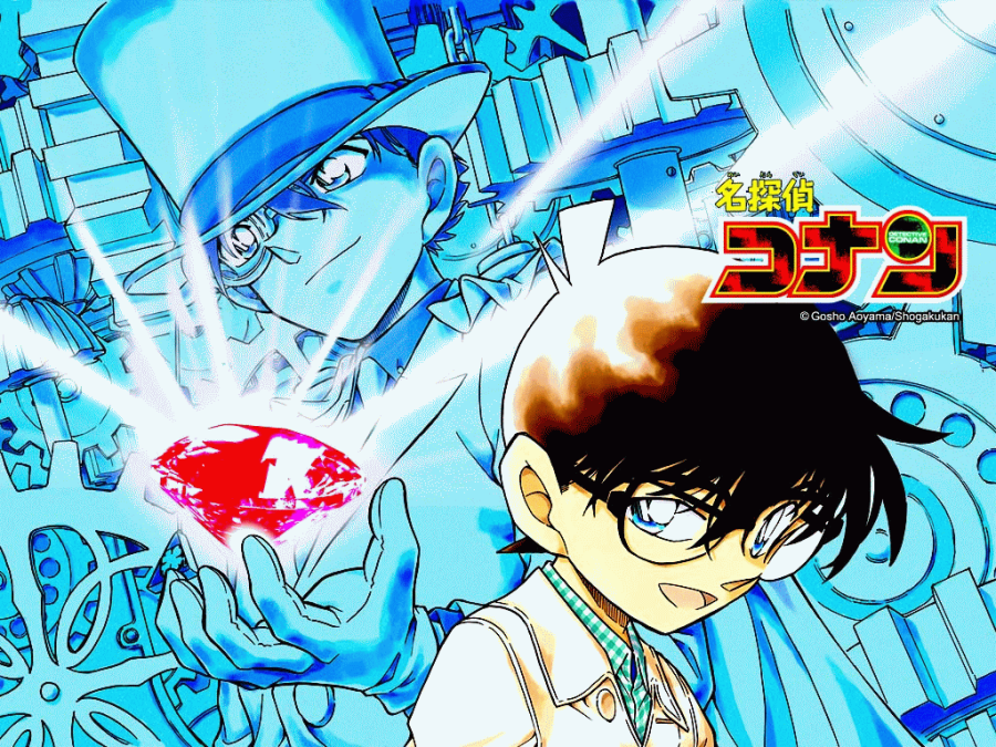 Detective Conan And Capten Kid HD Wallpaper Widescreen