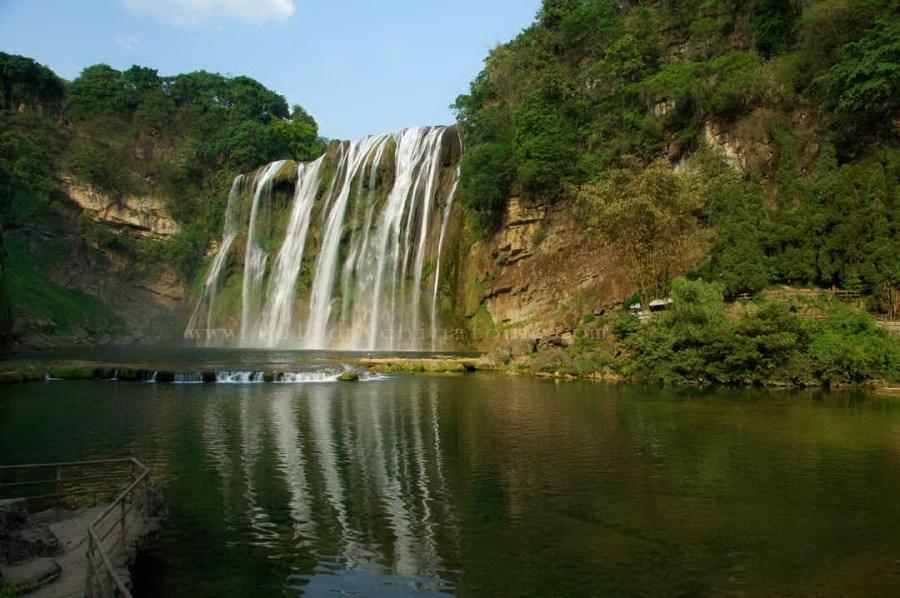 Huangguoshu Waterfall Nature Photo Picture For PC Desktop