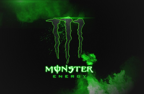 Monster Energy Black And Green HD Wallpaper Background Image