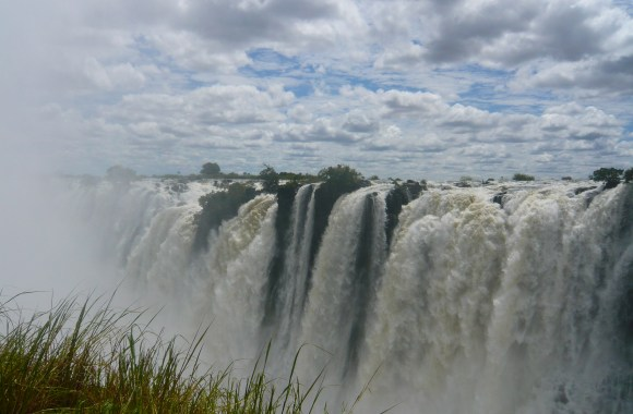 Widest Waterfall In The World Victoria Falls In Zimbabwe Pictures