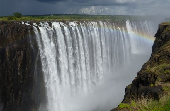 Awesome Victoria Falls For Your Touring Picture HD Wallpaper