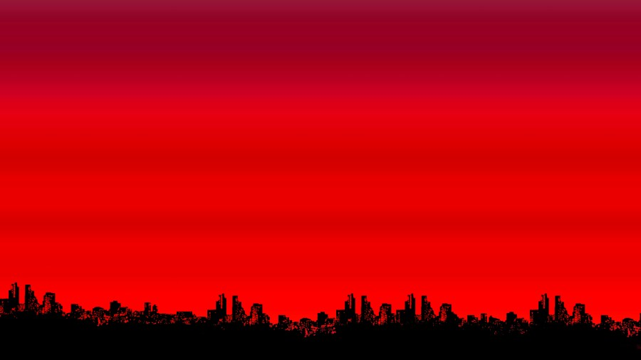 Awesome Abstract Red Black Jungle Image Picture HD Wallpaper