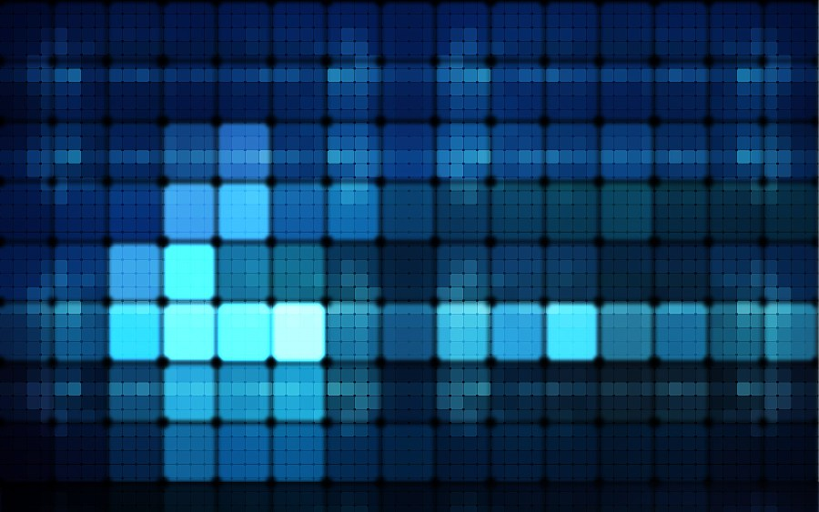 Awesome Blue Lights HD Wallpaper Widescreen For Your PC Desktop