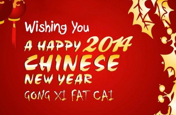 Happy 2014 Chinese New Year HD Wallpaper Image Original Size