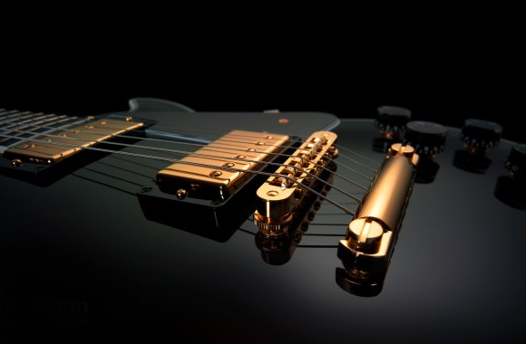 Beautiful Music Gibson Les Paul Guitar Electric HD Wallpaper Picture