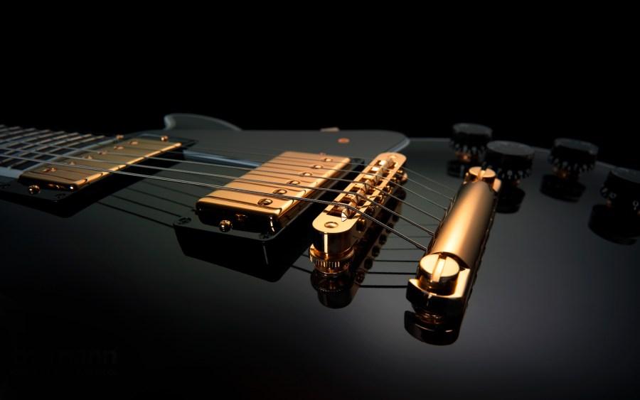 Beautiful Music Gibson Les Paul Electric Guitar HD Wallpaper Picture