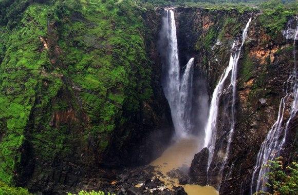 Jog Falls Shimoga Karnataka India Nature Pictures Free Download