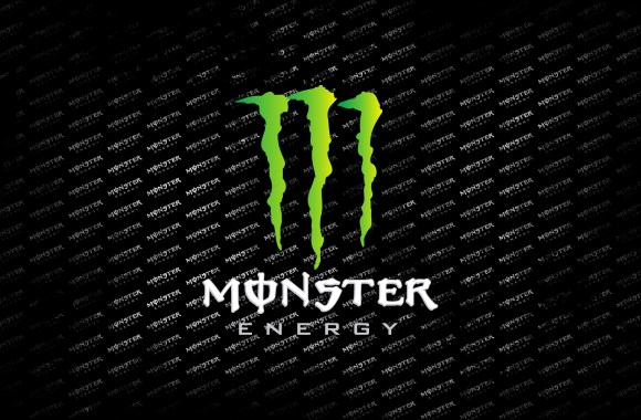 Monster Energy Logo And Font HD Wallpaper Background Image