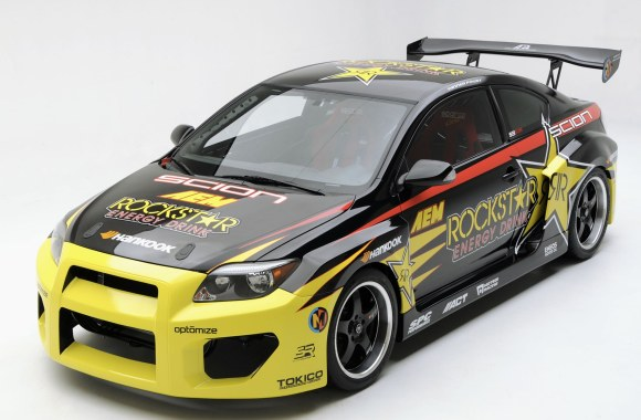 Amazing Car Sponsor By Rockstar Energy Drink Photo HD Wallpaper