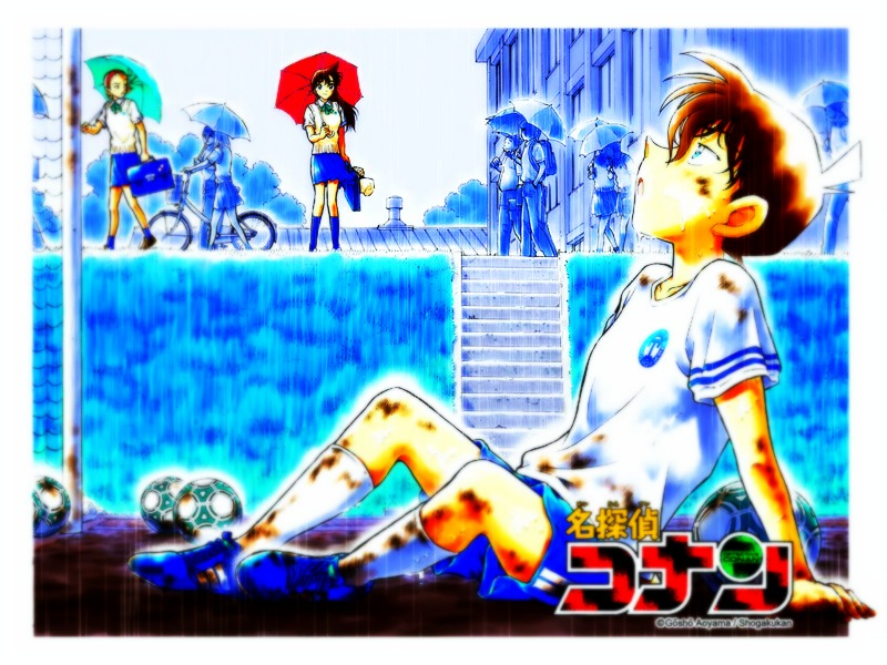 Shinichi kudo After Playing Football HD Wallpaper For PC Desktop