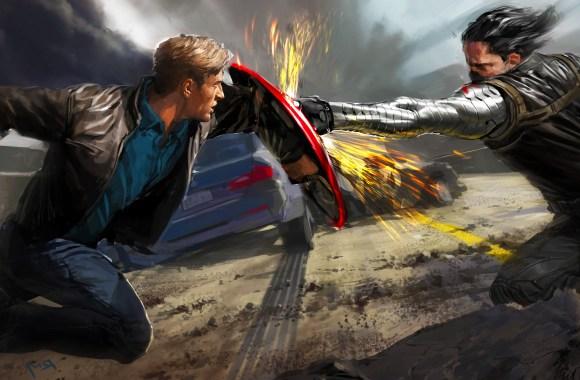 Captain America The Winter Soldier Friend And Foe HD Wallpaper Desktop