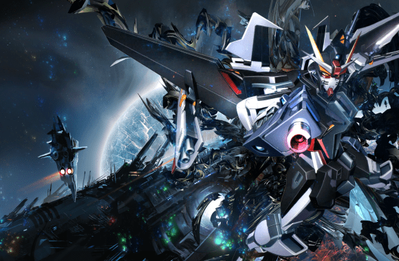 Gundam Full HD Wallpaper Widescreen Image For PC Desktop