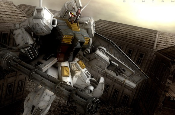 Free Download Gundam RX 78 Anime HD Wallpaper Widescreen