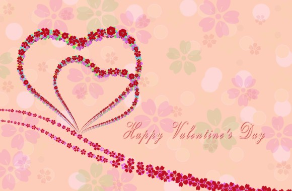 Happy Valentine's Day HD Wallpaper Widescreen For PC Desktop