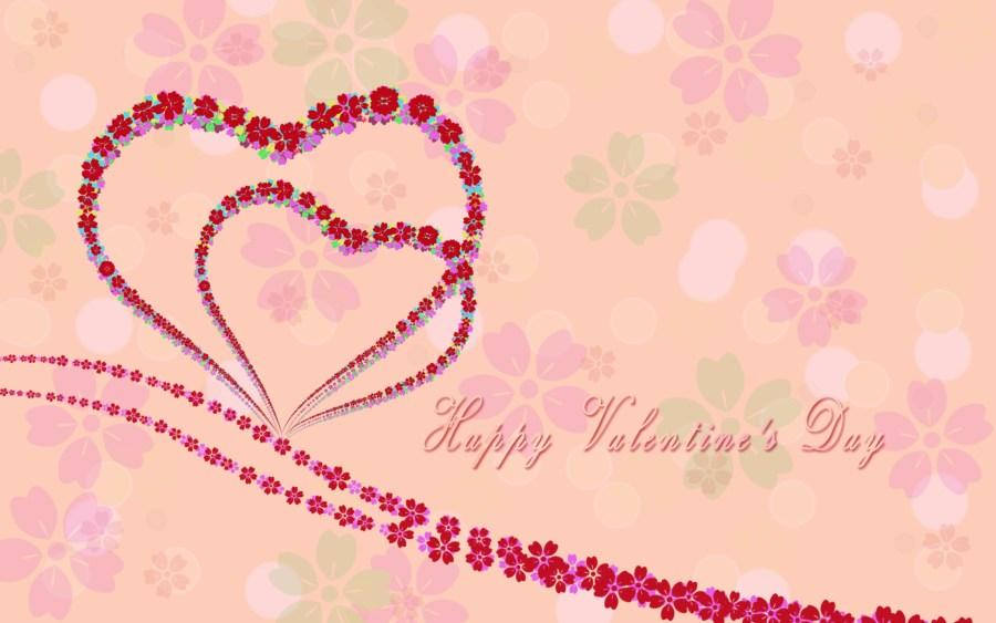 Happy Valentine's Day HD Wallpaper Widescreen For PC Desktop