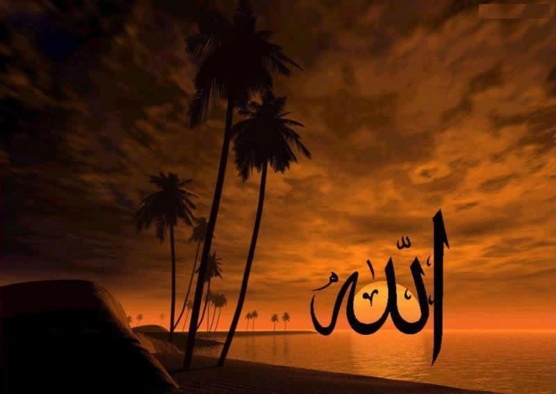 Beautiful Beach Islamic Photo Picture HD Wallpaper Sharing