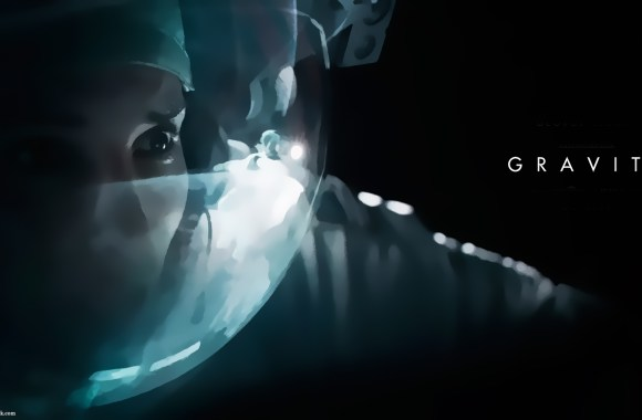 Gravity – Sandra Bullock HD wallpaper