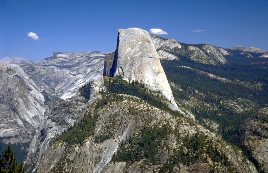 Half Dome in Yosemite Park