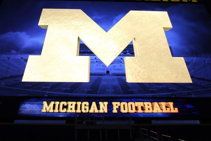 Michigan Football sign