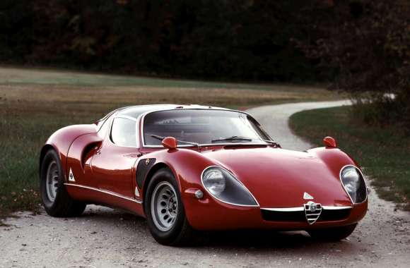 Alfa Romeo Tipo 33 Stradale HD Wallpaper
